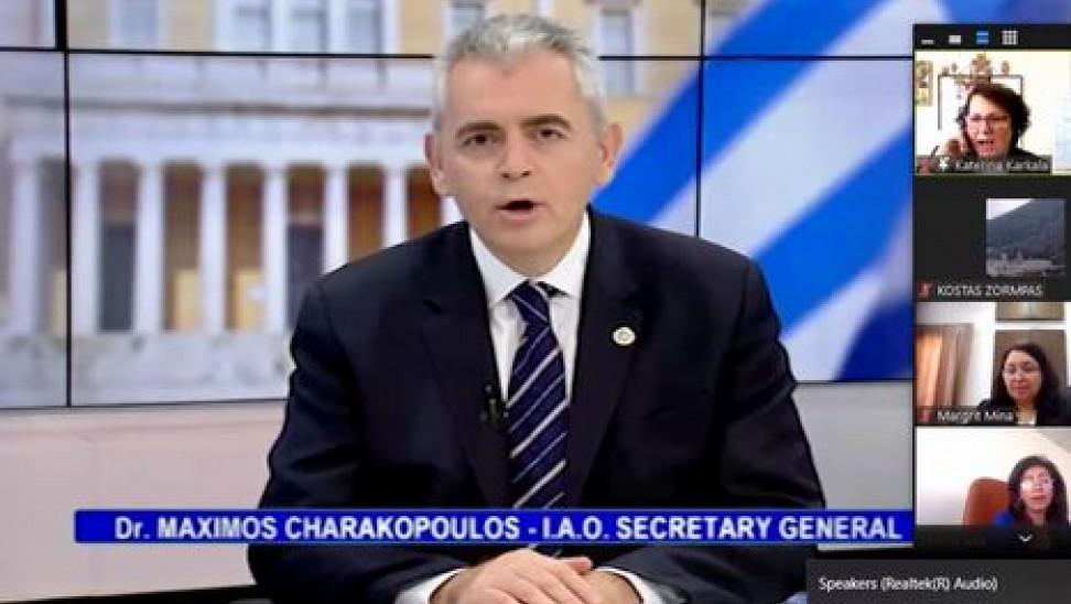 Χαρακόπουλος: Κοινό μέτωπο ΕΕ και Αράβων απέναντι στην Τουρκία, το κράτος-ταραξίας
